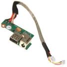 Mufa alimentare + USB HP Pavilion DV6000 DDAT8APB3001708 / DDAT8APB2004507 65W