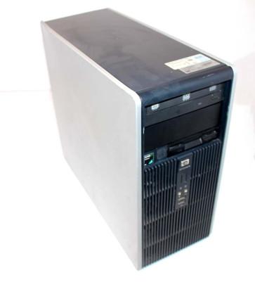 Calculator HP Compaq DC5850 AJ456av, AMD Athlon Dualcore 4450 B 2.3GHz , 2Gb DDR2 RAM, 80GB HDD, DVD-RW, placa video onboard Ati HD 3100