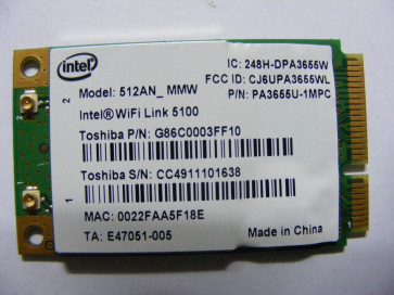 Placa de retea Wireless Intel 512AN_MMW