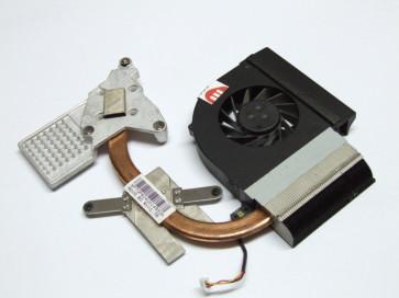 Heatsink + Cooler HP Compaq Presario CQ61 534685-001 cu o urma de lovitura