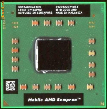 Procesor AMD Mobile Sempron 3500+ SMS3500HAX4CM