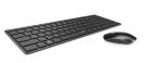 Kit tastatura + mouse wireless Rapoo X9310 2.4GHz Ultra-slim, layout IT, negru, 16A04X9310IT0228