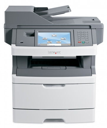 Imprimanta Multifunctionala laser monocrom Lexmark x463de, A4, Duplex, Retea, Copiator, Scaner, Usb, cartus NOU 9000 pagini, drum unit NOU