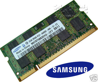 Memorii Laptop Samsung 2Gb PC2-6400 800MHz