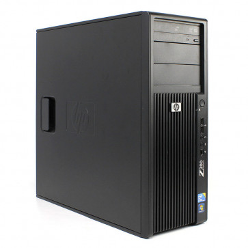 Calculator HP Z200 Workstation Intel Core i5-650 3.2GHz, 3GB DDR3, HDD 160GB + 160GB, DVD-RW, VA206AV