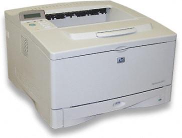 Imprimanta laser HP LaserJet 5100DTN (duplex+ tava + retea) Q1862A, fara cover display