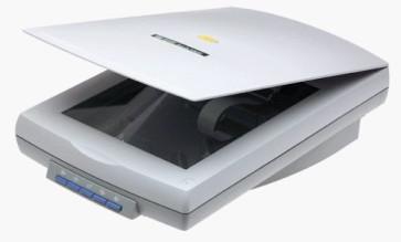 Scanner HP ScanJet 6300C C7670A cu carcasa sparta si ingalbenita, fara cablu