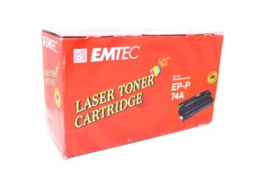 Cartus Compatibil Black EMTEC EP-P (74A) pentru HP LaserJet 4 L / 4 ML / 4 P/ 4 P / 4 MP, Canon PX / LBP 4 i /4 V / 430 / 430 W / 404 G II / PX II / P 90,  Apple Laserwriter 4-600 PS