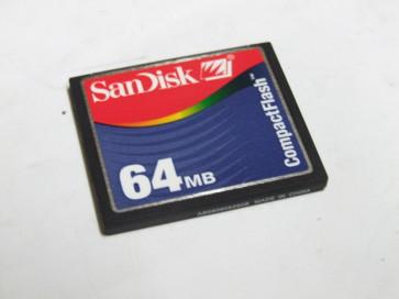 Flash card SanDisk 64MB HP Color LaserJet 4730MFP CB398AE