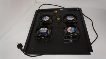 """Unitate de ventilatie pentru Rack 19"""" 55 x 45 cm cu 4 unitati de ventilatie MQ12038"""