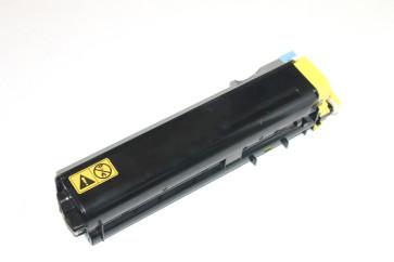 Cartus original Cyan TK-510Y (toner la 80%) Kyocera Mita FS-C5020N / FS-C5025 / FS-C5030N