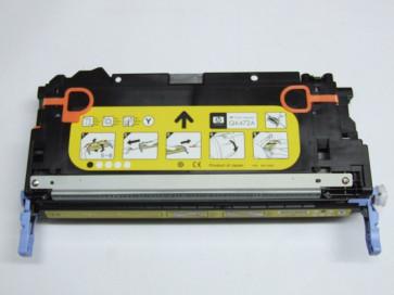 Cartus original imprimanta HP Q6472A yellow, nou, open box