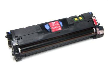Cartus original second hand Magenta HP 122A (Q3963A) HP Color LaserJet 2550L / 2550Ln / 2550n / 2820 / 2840 / 3000 / 3000dn / 3000dtn / 3000n  toner 40%