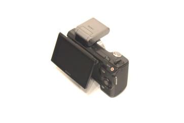 Body Sony NEX-5, 14.2MP, Black (fara baterie, fara obiectiv)