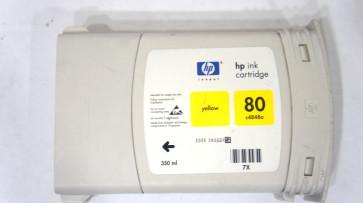 Cartus cu cerneala SH yellow HP 80 C4848A