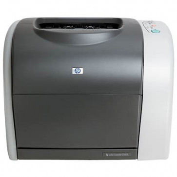 Imprimanta laser color HP Color Laserjet 2550n Q3704A, second hand, fara cartuse, fara cabluri