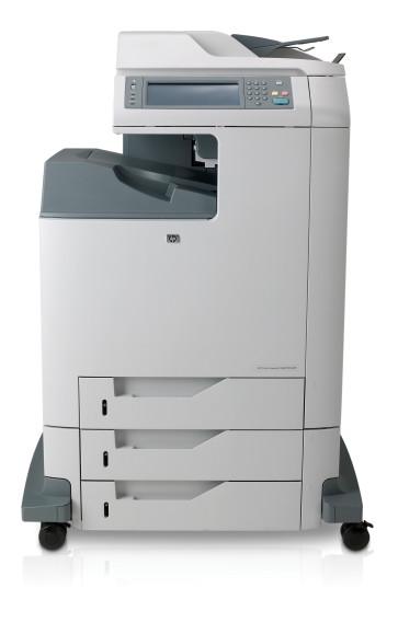 Imprimanta multifunctionala laser color HP Color Laserjet 4730 MFP, second hand, cartuse cu uzura 0%, cablu de alimentare si cablu USB inclus