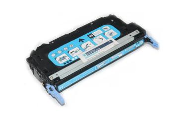 Cartus Original Cyan Q7581A (503A) HP Color Laserjet 3800 ,CP3505 (toner 43%)