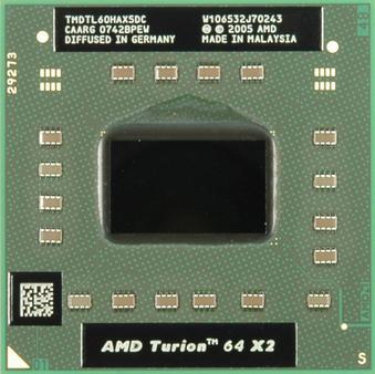 Procesor AMD Turion 64 X2 TL60 TMDTL60HAX5DM