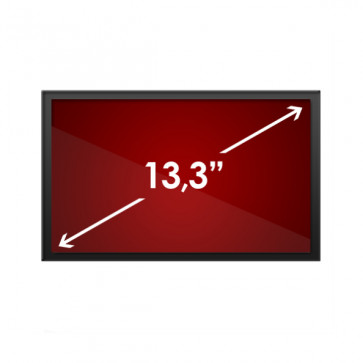 Display laptop 13.3 inch LED Glossy Chi Mei N133B6-L02 WXGA (1366x768), din lateral se vede patat