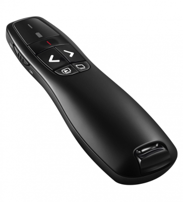 Wireless USB Presenter PowerPoint Remote Control Laser Pointer for PPT / Keynote / Prezi / OpenOffice / Windows / Mac OS / Android / Linux