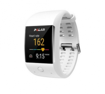 Smartwatch Polar M600 Sport, Android Wear, Alb