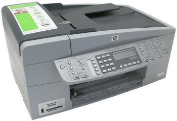 Imprimanta multifunctionala HP Officejet 6313 AiO Q8061C fara cartuse, fara alimantator, fara cabluri
