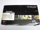 Cartus toner original Lexmark 12A7405 negru de capacitate mare pentru E321 E323