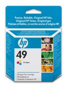 Cartus cu cerneala original HP 49 Tri-colour nou, sigilat, expirat 51649AE