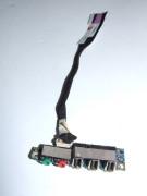Placa sunet + 3 Porturi USB Lenovo 3000 N100 N200 C200 DC020008Z00