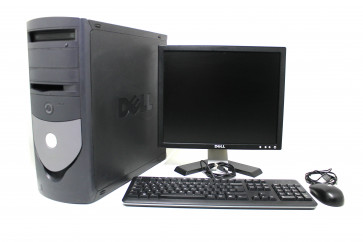 "Calculator Dell Optiplex GX 280 Pentium 3.00 GHz , 2 GB DDR 2 , HDD 160 GB , Placa video integrata , Monitor 17"" inch , Mouse + Tastatura"