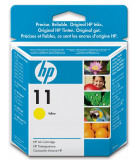 Cartus cu cerneala original expirat HP 11 Yellow HP Business InkJet / 1000 / 1100D / 1200 / 2200 / 2300 / 2600 / 2800 / Color InkJet CP1700 DesingJet 70 / 100 / 110 / 100plus / 110plus  OfficeJet 9110 / 9120 / 9130 OfficeJet Pro K850 C4838AE