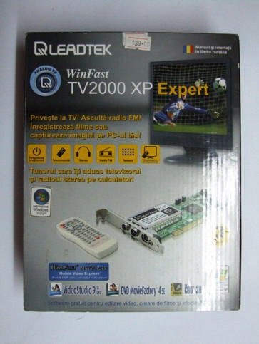 Tuner TV Leadtek Winfast TV2000 XP Expert LR6611