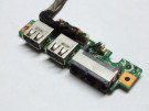 Port USB + mufa retea MSI VR601 MS-16352