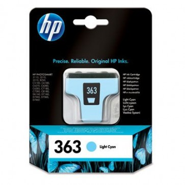 Cartus cu cerneala original expirat HP C8774EE (HP 363) Light Cyan