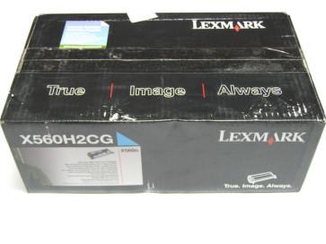 Cartus toner original Lexmark X560H2CG cyan de capacitate mare pentru x560n