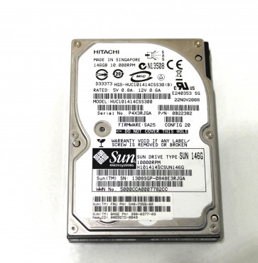 HDD SAS 146GB 10000rpm 132Mbs 16Mb 2.5 inch HITACHI HUC101414CSS300 / 0B22382