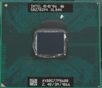 Procesor Intel Core 2 Duo P8600 SLGFD