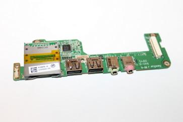 Card reader + Audio Jack + Usb port Acer Aspire one zg5 s8c8d0m53-06