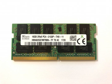 SK Hynix SODIMM 16gb 2rx8 Pc4-2133P Ddr4-2133mhz Hma82gs7mfr8n