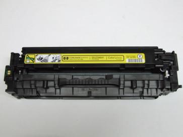 Cartus original imprimanta HP CC532A galben pentru HP Color LaserJet CM2320 CP2025, folosit, UZURA 12%