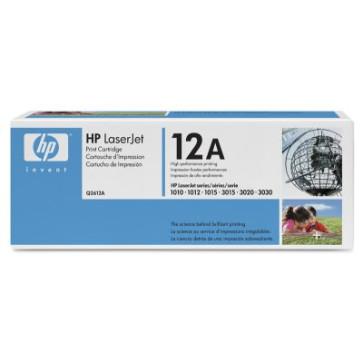 Cartus original imprimanta HP Q2612A 12A Negru