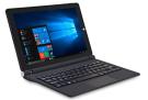 "iOTA ONE (versiune noua) Laptop 2-în-1 10,1 ""(negru) - (Procesor Intel Quad Core Atom 1,44 GHz (Burst 1,92 GHz), 2 GB RAM, 32 GB stocare eMMC + mSD 128GB, Windows 10"