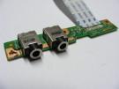 Port audio Compaq CQ70 50.4D029.001