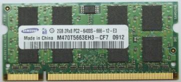 Memorie Laptop Samsung SODIMM DDR2 2GB PC2-6400S 800MHz